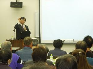 社会保険労務士 洞澤研氏による講演