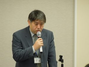 神奈川県県土整備局建設業課 宅建指導担当 中尾様による説明