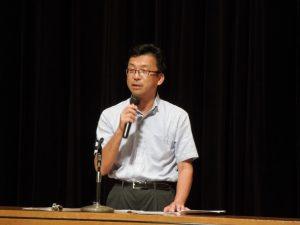 講師 神奈川県県土整備局 宅建指導担当 芳賀 様