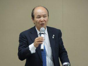 一般保証制度について説明する石井一般保証業務委員長