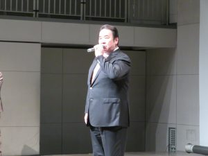 開会の挨拶を行う唐橋相模原支部長