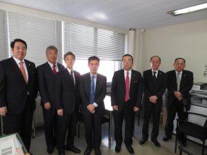 同日に神奈川県建設業課 柿木課長に年始のご挨拶に伺いました。