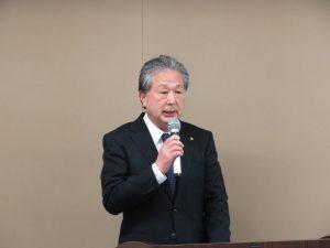一般保証制度について説明する鈴木一般保証業務委員