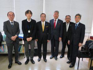 同日に神奈川県建設業課 井上課長に年始のご挨拶に伺いました
